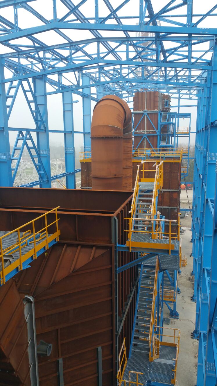 Montaggi Industriali - Lavori -    CENTRALE POWERCROP DI RUSSI (RA) - montaggi industriali