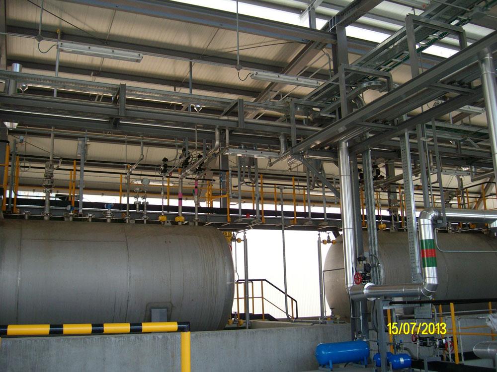 Montaggi Industriali - Lavori -  CENTRALE TERMOELETTRICA EDIPOWER DI PIACENZA (PC) - montaggi industriali